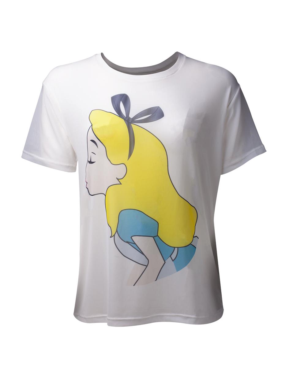 e2460e99f47e DISNEY - Alice In Wonderland Sublimation Mesh Women s T-sh - biele dámske  tričko