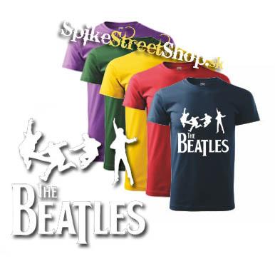 ed3b2d751 BEATLES - Jump - farebné detské tričko