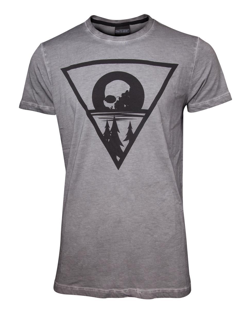 68a005877 DAYS GONE - Morior Invictus T-shirt - sivé pánske tričko