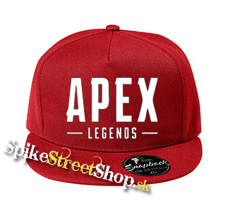 e57e0db16 APEX LEGENDS - White Logo - červená šiltovka model