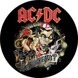 AC/DC - Are You Ready - odznak
