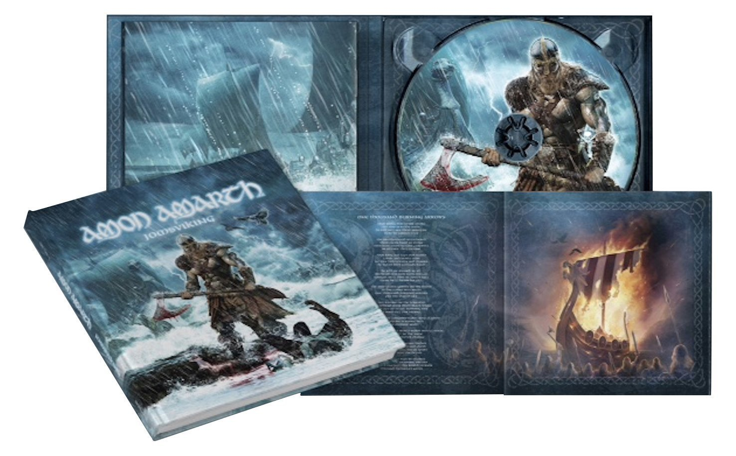 AMON AMARTH - Jomsviking (digipack-cd)