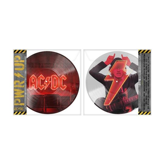 AC/DC - Power Up (lp) COLOURED TRANSPARENT YELLOW