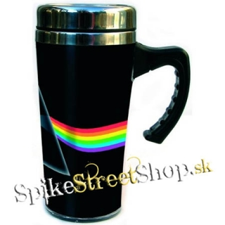 Hrnček PINK FLOYD - Travel Mug - Dark Side Of The Moon (Výpredaj)