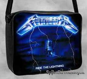 METALLICA - Ride The Lightning - taška na rameno
