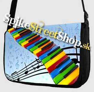 Retro taška FLOWER EVOLUTION - Piano Street Bag