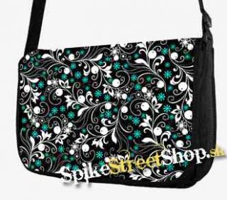 cccf886514 Retro taška FLOWER EVOLUTION - Meadow Flowers Street Bag