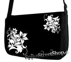 Retro taška FLOWER EVOLUTION - Death Flowers Street Bag
