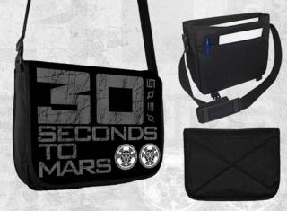 30 SECONDS TO MARS - Logo - taška na rameno