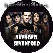 AVENGED SEVENFOLD - Colour Portrait - odznak