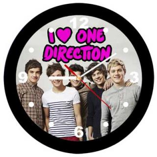 ONE DIRECTION - I Love One Direction - nástenné hodiny