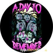 A DAY TO REMEMBER - Wolf - odznak