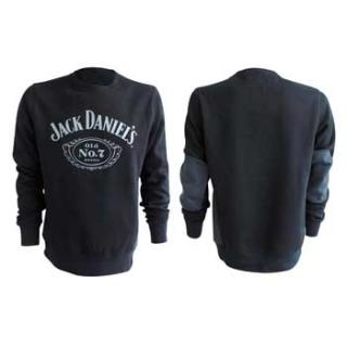JACK DANIELS -  Black Old No. 7 Sweater - pánska mikina