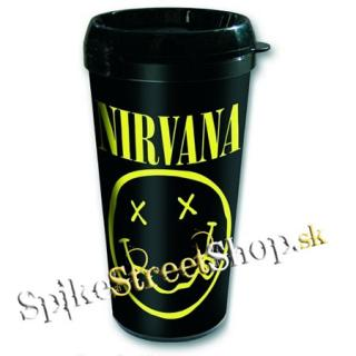 Hrnček NIRVANA - Travel Mug - Logo & Smile