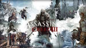 Samolepka ASSASSINS CREED III