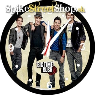 BIG TIME RUSH - Band - Motive 1 - nástenné hodiny