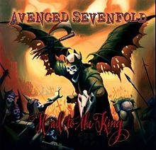 AVENGED SEVENFOLD - Hail To The King - (cd)