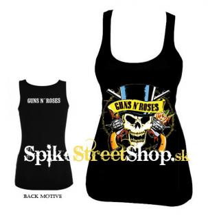 GUNS N ROSES - Skull - Ladies Vest Top