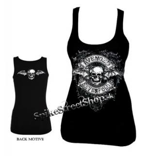 AVENGED SEVENFOLD - Ancient Skull - Ladies Vest Top