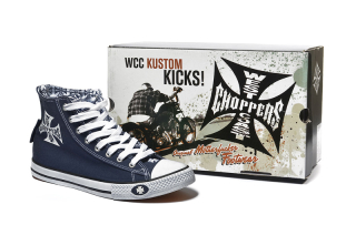 Tenisky WEST COAST CHOPPERS - Warrior Navy