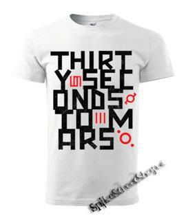 30 SECONDS TO MARS - Anthem - biele pánske tričko 5e097aeb2f