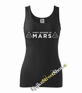 30 SECONDS TO MARS - Logo - Ladies Vest Top
