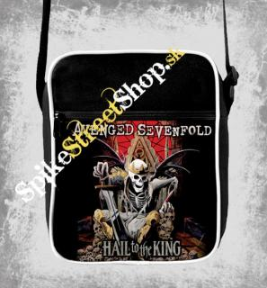 AVENGED SEVENFOLD - Hail To The King - retro taška na rameno