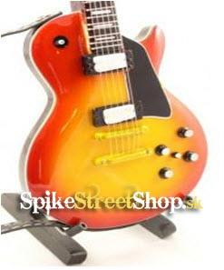 Gitara FRANK ZAPPA - GIBSON LP CHERRY - Mini Guitar USA