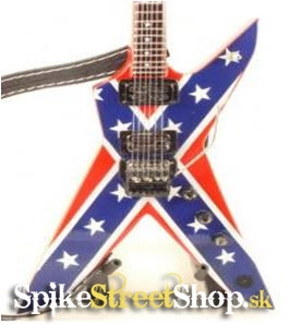 Gitara DIMEBAG DARRELL - DEAN DIXIE REBEL - Mini Guitar USA