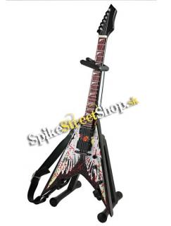 Gitara DAVE MUSTAINE - DEAN RAZORBACK V ANGEL OF DEAD - Mini Guitar USA