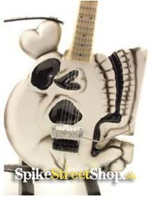 Gitara C.C. DEVILLE - B.C RICH SKELETON - Mini Guitar USA
