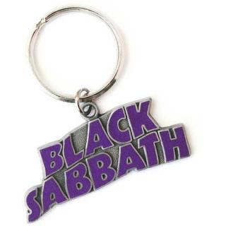 BLACK SABBATH - Wavy Logo - kovový prívesok na kľúče c39eac1500c