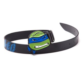 NEW TEENAGE MUTANT NINJA TURTLES - Belt With Leo Buckle - opasok