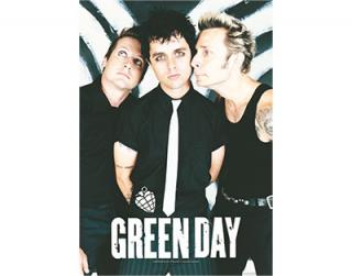 GREEN DAY - Band Poster - vlajka