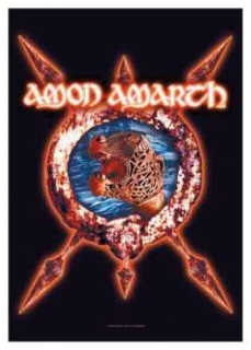 AMON AMARTH - Ship - vlajka
