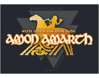 AMON AMARTH - With Oden On - vlajka