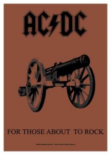 AC/DC - For Those About - vlajka