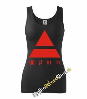 30 SECONDS TO MARS - Red Triad - Ladies Vest Top