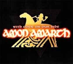 Samolepka AMON AMARTH - With Oden On Our Side