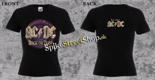 fd5433583d40 AC DC - Rock Or Bust - dámske tričko