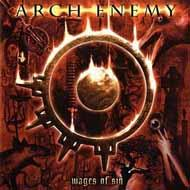 Samolepka  ARCH ENEMY - Wages Of Sin