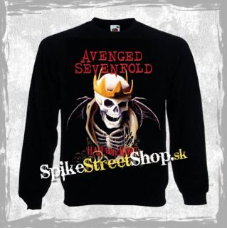 AVENGED SEVENFOLD - Hail To The King - mikina bez kapuce