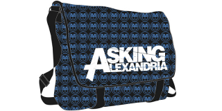 ASKING ALEXANDRIA - Messenger Bag Deluxe - taška na rameno (-30% AKCIA 48be6eee7f0