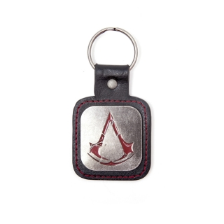 ASSASSINS CREED ROGUE -  Metal Logo Keychain - kovový prívesok na kľúče