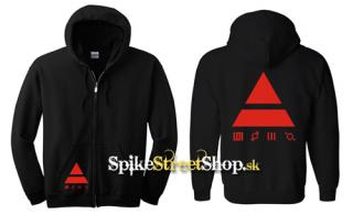 30 SECONDS TO MARS - Red Triad - mikina na zips