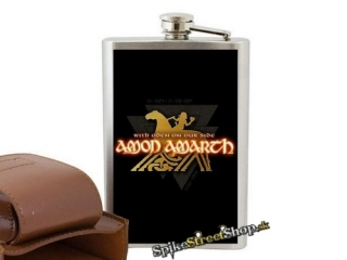 AMON AMARTH - With Oden On Our Side - nerezová ploskačka na alkohol
