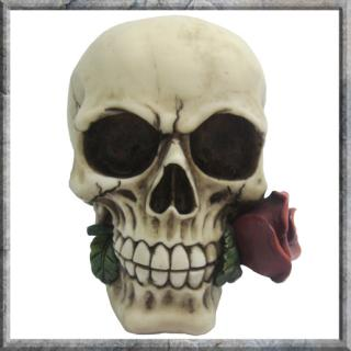 GOTHIC COLLECTION - Rose From the Dead 15cm (P4&P18) - lebka