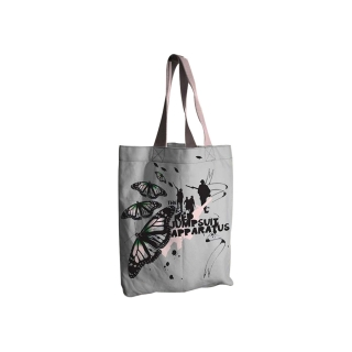 RED JUMPSUIT APPARATUS - White Tote Bag - taška cez plece