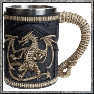 GOTHIC COLLECTION - Dragon Remains Tankard 15cm (P6) - krígel
