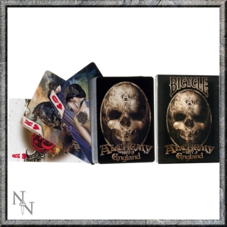 GOTHIC COLLECTION - Bicycle Alchemy II Playing Cards (P12) - karty
